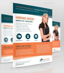 11 recruitment flyer templates free psd ai eps format
