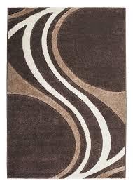 Schlafzimmer Braun Silber Prada Teppich 8006 Designer Teppiche Modern Wohnzimmer