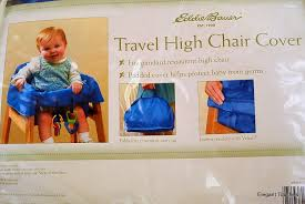 Eddie Bauer Light Wood High Chair Amazon Com Eddie Bauer Travel High Chair Cover Childrens