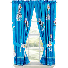 boys bedroom curtains disney s frozen olaf boys bedroom curtains set of 2 walmart com