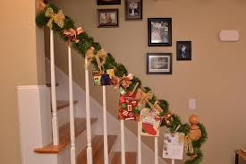 Banister Garland Ideas Beautiful Christmas Decorations That Turn Your Staircase Into A