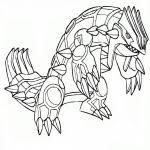 coloriage entei pokemon à imprimer sur coloriages info