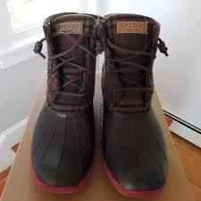 womens boots size 9 67 sperry shoes speedy s boots size 9 from joe s