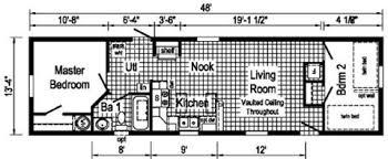 4 Bedroom Single Wide Floor Plans Ds127a Single Wide Floor Plan Ridge Crest Home Sales