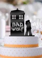 tardis wedding cake topper doctor who tardis cake topper ebay