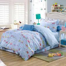 100 Cotton Queen Comforter Sets Children Cartoon Car Bus Animal Comforter Bedding Sets 100 Cotton