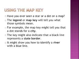 what is a map legend what is a map