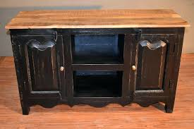 distressed corner tv cabinet black distressed tv stand solid wood stand sideboard distressed