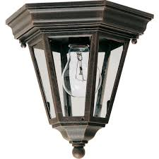 Outdoor Light Fixture With Outlet by Home Decorators Collection Mccarthy 2 Light Bronze Outdoor