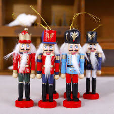 Nutcracker Christmas Ornaments by Wooden Nutcracker Christmas Ornaments Ebay