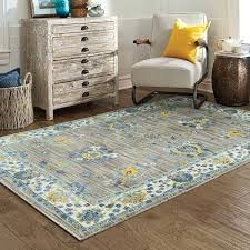 Yellow And Grey Outdoor Rug And Yellow Quatrefoil Outdoor Rug With Regard To Blue Remodel 6