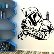 star wars bobba fett bounty hunter vinyl wall art sticker decal ebay categories