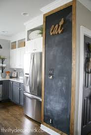 wall ideas for kitchen adding some rustic charm to the kitchen chalkboard walls