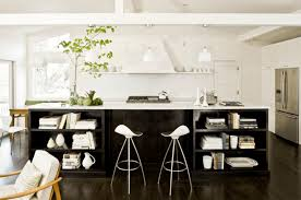kitchen black white kitchen with pendant light also island