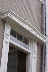 Exterior Door Pediment And Pilasters Exterior Door Pediment And Pilasters Pediments Entrance Front
