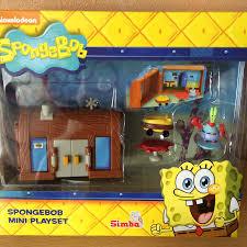 nickelodeon spongebob squarepants mini playset krusty krab house