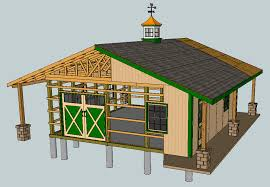 How To Build A Pole Barn Plans For Free by 6 Free Barn Plans