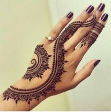 here is an example of a water based paste stain henna