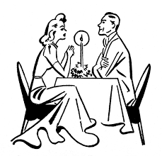 dinner silhouette silhouette couple clip art library