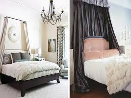 making your own canopy bed drapes modern wall sconces and bed ideas