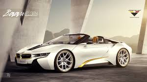 Bmw I8 Yellow - vorsteiner previews what a modified bmw i8 spyder will look like
