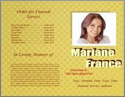 funeral u0027 in funeral program templates scoop it