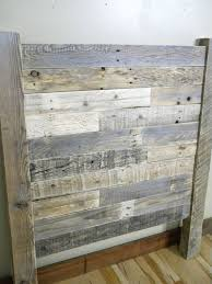 Distressed Wood Headboard by Best 20 Wood Twin Bed Ideas On Pinterest Twin Bed Frame Wood