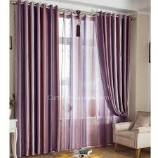 Purple Room Darkening Curtains Fabulous Purple Blackout Curtains With Strips For Feelings