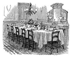 dining table clipart lakecountrykeys com