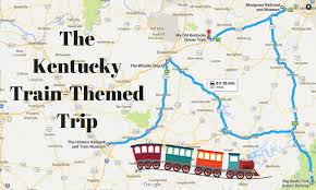 Kentucky how long does it take for mail to travel images The ultimate train themed trip through kentucky png