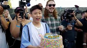 Rich Chigga Post Malone Surprises Rich Chigga With A Gospel Choir For His