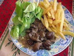 cuisiner des rognons de boeuf recette de rognons de boeuf à la moutarde par lyly59
