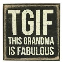 grandmother gift ideas tgif box sign gift for grandmother gift for