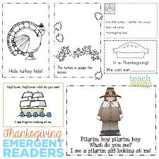 the 25 best thanksgiving emergent reader free ideas on