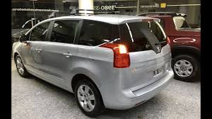 peugeot 5008 trunk peugeot 5008 allure plus youtube