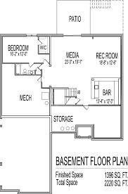 floor plans for basements 4 bedroom house plans with basement simple house floor plans modern
