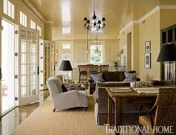Traditional Home Interior Design Brilliant Blue And Brown Traditional Home
