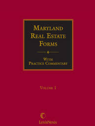maryland real estate forms lexisnexis store
