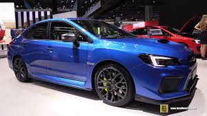 subaru wrx interior 2018 2018 subaru wrx sti exterior and interior walkaround 2017