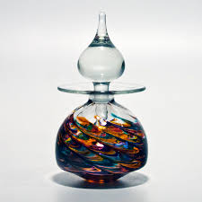 designer vases u0027nefertiti u0027 by michael trimpol boha glass
