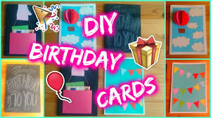 the birthday ideas diy 4 easy birthday card ideas