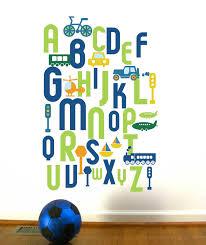 decoration alphabet wall decals home decor ideas alphabet wall decal project awesome alphabet wall decals