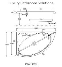 Length Of A Standard Bathtub Best 25 Bathtub Dimensions Ideas On Pinterest Small Bathroom