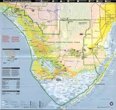 Florida Trail Map by Protrails Anhinga Trail Trail Map Royal Palm Visitor Center
