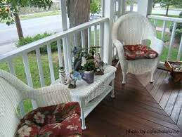 Victorian Furniture Wicker Porch Furniture - Porch furniture