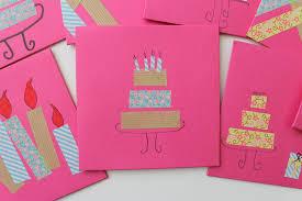 art birthday invitations serving pink lemonade