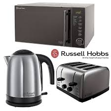 Russell Hobbs Kettle And Toaster Set Silver Russell Hobbs Stainless Steel Microwave Kettle 4slice