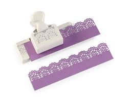 amazon com martha stewart crafts deep edge border punch