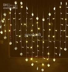cheap warm white led curtain light lights wedding