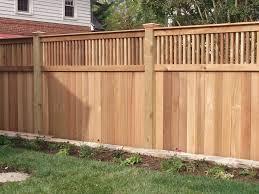 ideas for garden fence design